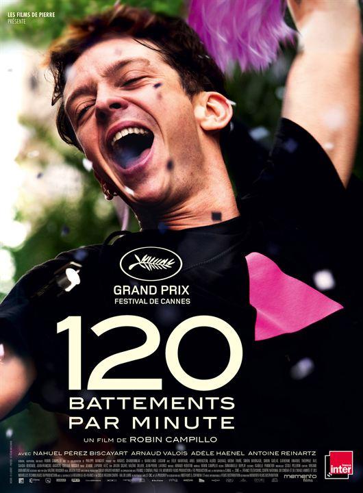 120 battements par minute, robin campillo, grand prix, festival de cannes, act up, engagement, nahuel perez biscayart, arnaud valois, adele haenel, sida, vih