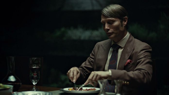 hannibal, série, télé, thomas harris, lecter, psychologue, cannibale, mads mikkelsen, hugh dancy, tueur, serial killer, analyse, esthétique, bryan fuller, gillian anderson, laurence fishburne, saison