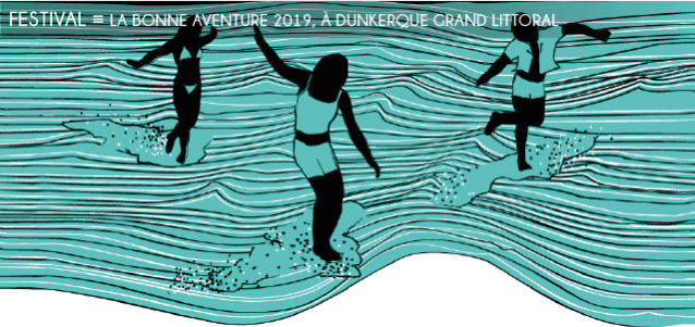 la bonne aventure, 2019, dunkerque, festival, musique, littoral, parcours secrets, charlotte gainsbourg, supergroovalistic, afro beat, pop, rap, funk, reggae, techno