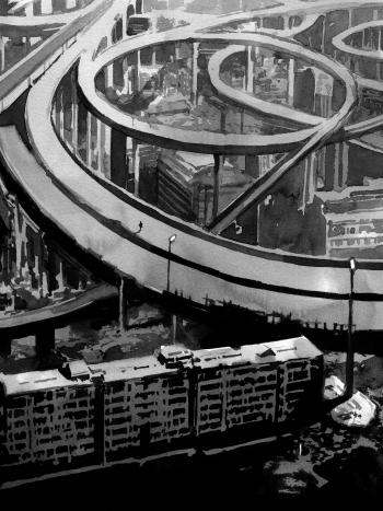 Yirminadingrad, Adar, Dystopia workshop, Léo Henry, Jacques Mucchielli, Stéphane Perger, Alain Damasio, Stéphane Beauverger, Norbert Merjagnan, Mélanie Fazi, Laurent Kloetzer, analyse, dystopia